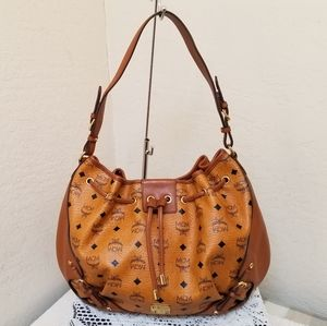 MCM Italy with Dustbag Shoulder Hobo Bag